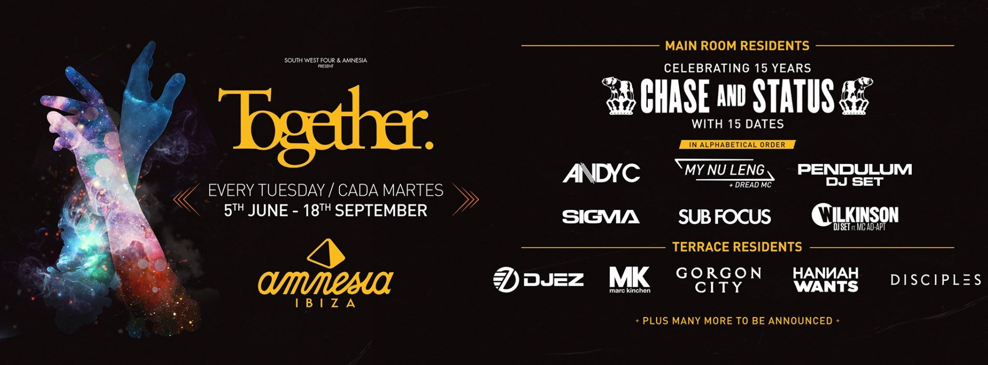 Together poster Amnesia 2018