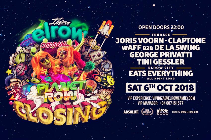 elrow closing party