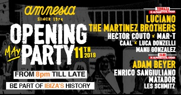 Amnesia Opening Party 2019 11-05-2019