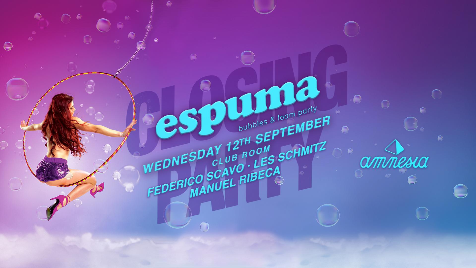 espuma closing