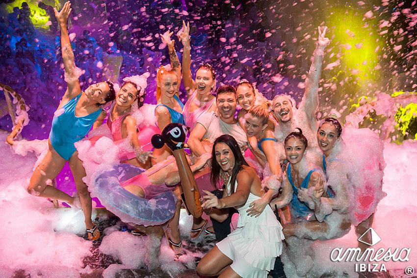 Amnesia Foam Party