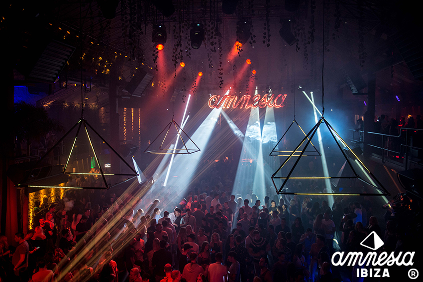 Amnesia Opening 2018 terrace