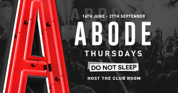 Abode - Do Not Sleep 23-08-2018