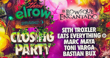 elrow Ibiza Closing Party 30-09-2017