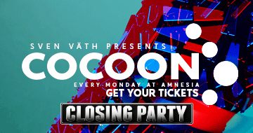 Cocoon Closing Party 02-10-2017
