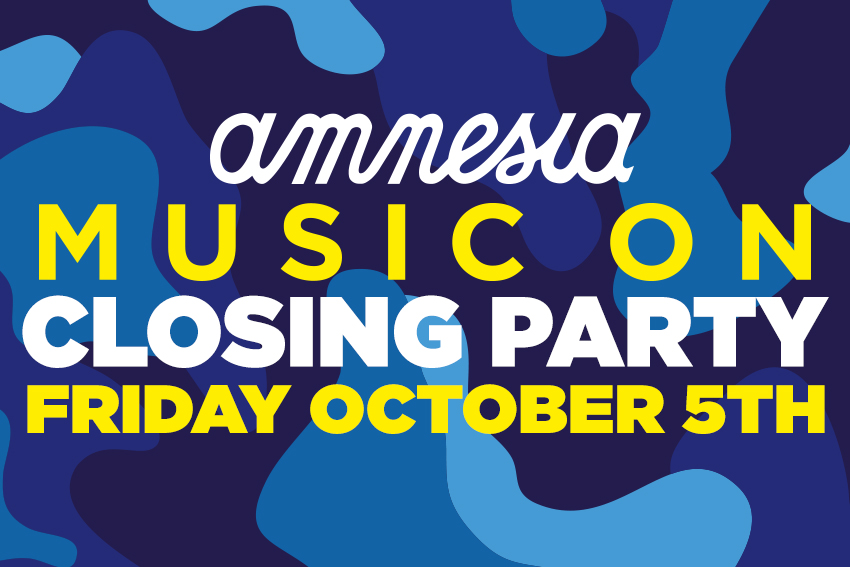 Music closing party