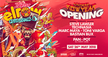 elrow Opening Party 26-05-2018