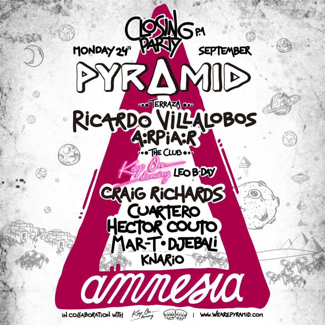 Pyramid line up