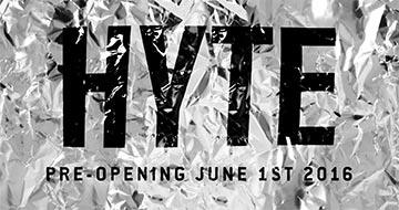 HYTE Pre-Opening Party 01-06-2016