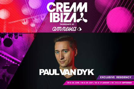 Paul Van Dyk returns to Cream Ibiza this season!