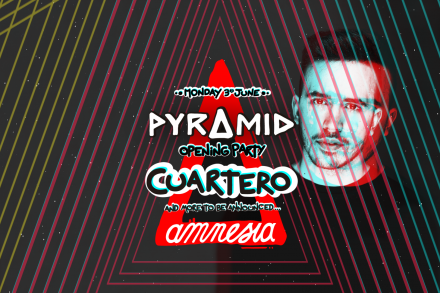 Cuartero is added to Pyramid's Opening Party!