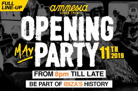 Full line-up for Amnesia Opening Party announced!