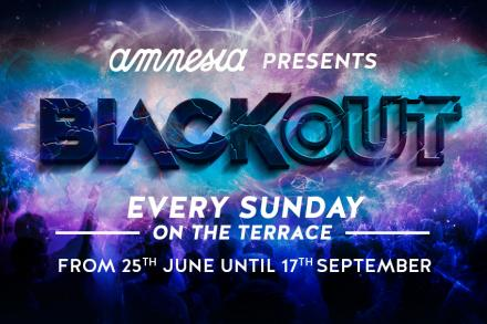 BlackOut, the new EDM party at Amnesia!