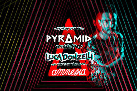 Luca Donzelli joins the pyramid opening line-up!