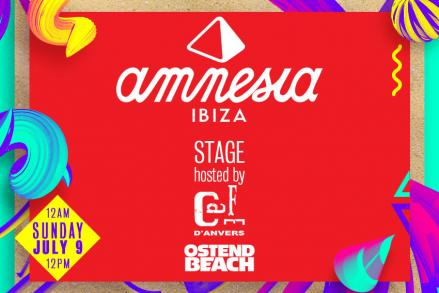 Amnesia stage @ Ostend Beach Festival