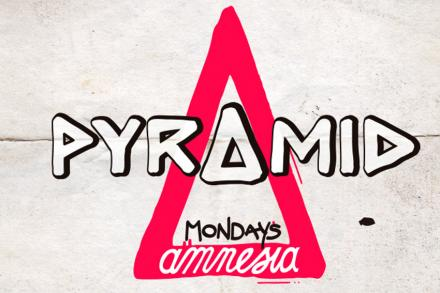 Pyramid, every Monday at Amnesia, by Amnesia