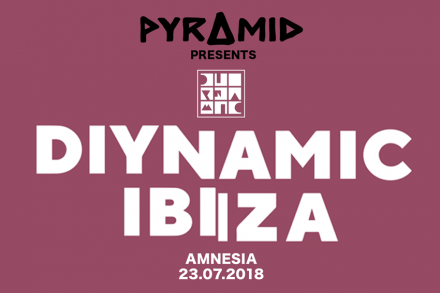 PYRAMID PRESENTS Diynamic Ibiza at AMNESIA