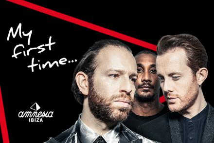 Chase & Status and their first Amnesia experience!
