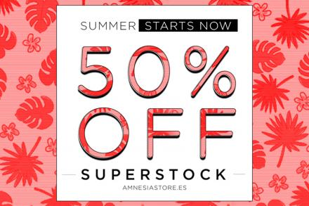 Sales are on... 50% off at the Amnesia store!