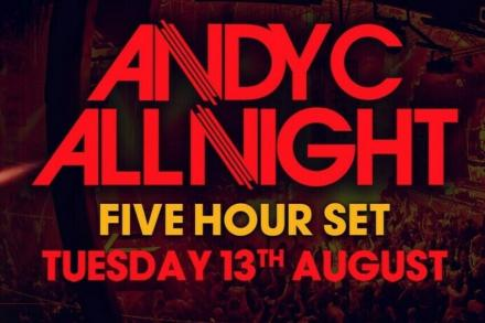 Andy C brings us a unique event