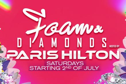 Come to live the night of your life with Paris Hilton!