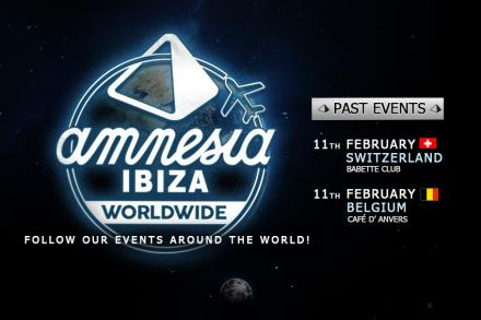 Amnesia takes the sound of Ibiza around the world!