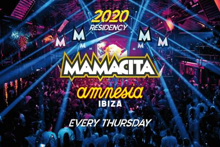 Mamacita is back at Amnesia to stay