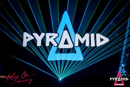 Pyramid grows every Monday At Amnesia