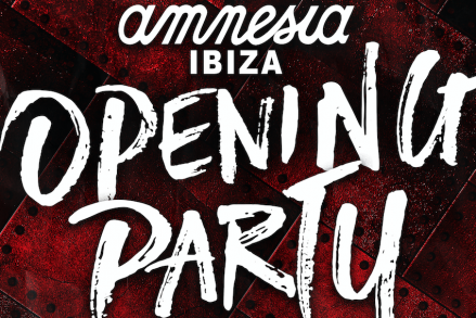 Amnesia Ibiza Opening Party has been announced!
