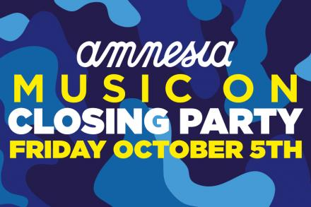 Music On has already its Closing Party date