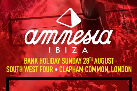 Amnesia for the first time ever at a UK festival!