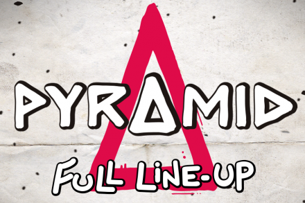 Pyramid announces full line up
