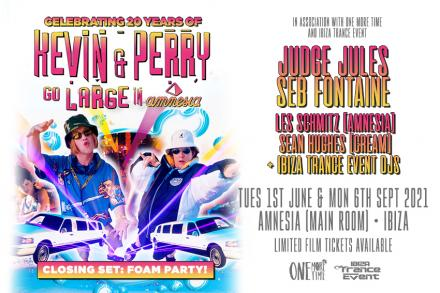 We will celebrate 20 Years of Kevin & Perry at Amnesia
