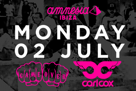CARL COX RETURNS TO AMNESIA IBIZA