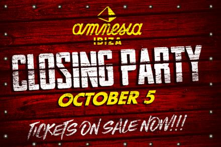 Our Closing Party has already a date!