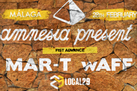 Amnesia Present goes to Málaga!