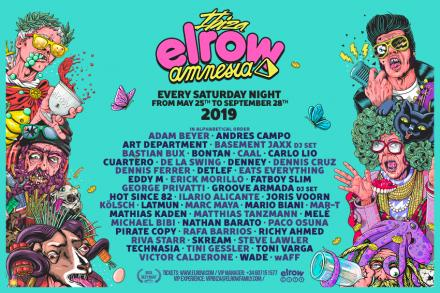 Elrow unveils huge artists for 2019!