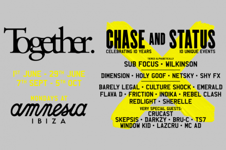 Together announces fierce line-up for 2020 season