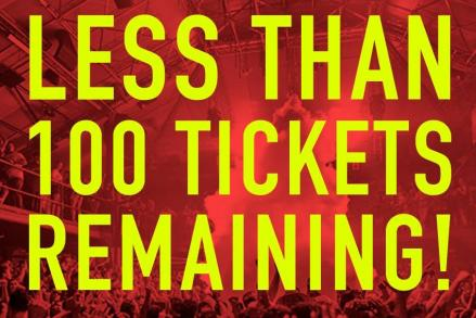 Last tickets for Amnesia London @ Electric Brixton