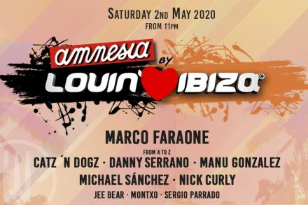 First names unveiled for Amnesia by Lovin' Ibiza