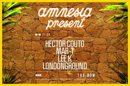 Amnesia present at The Bow, Buenos Aires