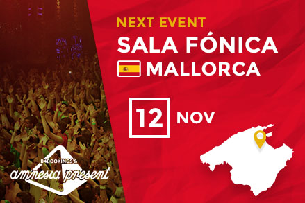 Amnesia WorldWide goes to Mallorca.