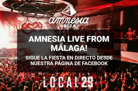 Amnesia Presents Live from Local 29, Málaga!