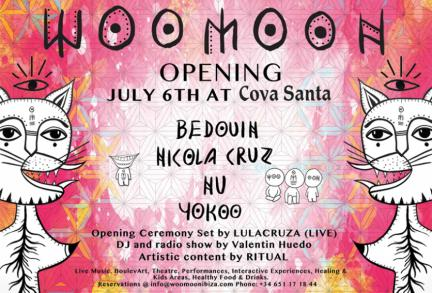 WooMooN, join us from 6th July at Cova Santa