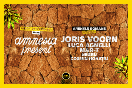 Amnesia Present goes to Bucharest