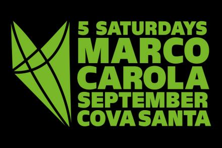The last 5 Music ON after parties will be at Cova Santa
